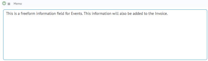 event-memo