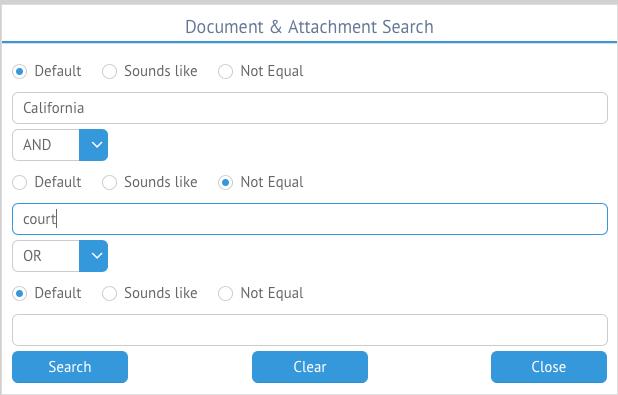 Advanced Doc Search 2